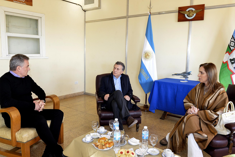 El presidente Macri en Bahía Blanca (1)