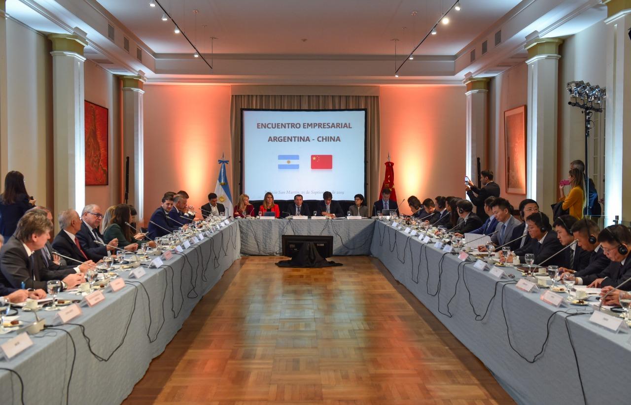 Encuentro de Diálogo Empresarial Argentina-China.