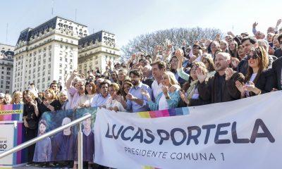 Juntos por el Cambio cerró la campaña en la Comuna 1.