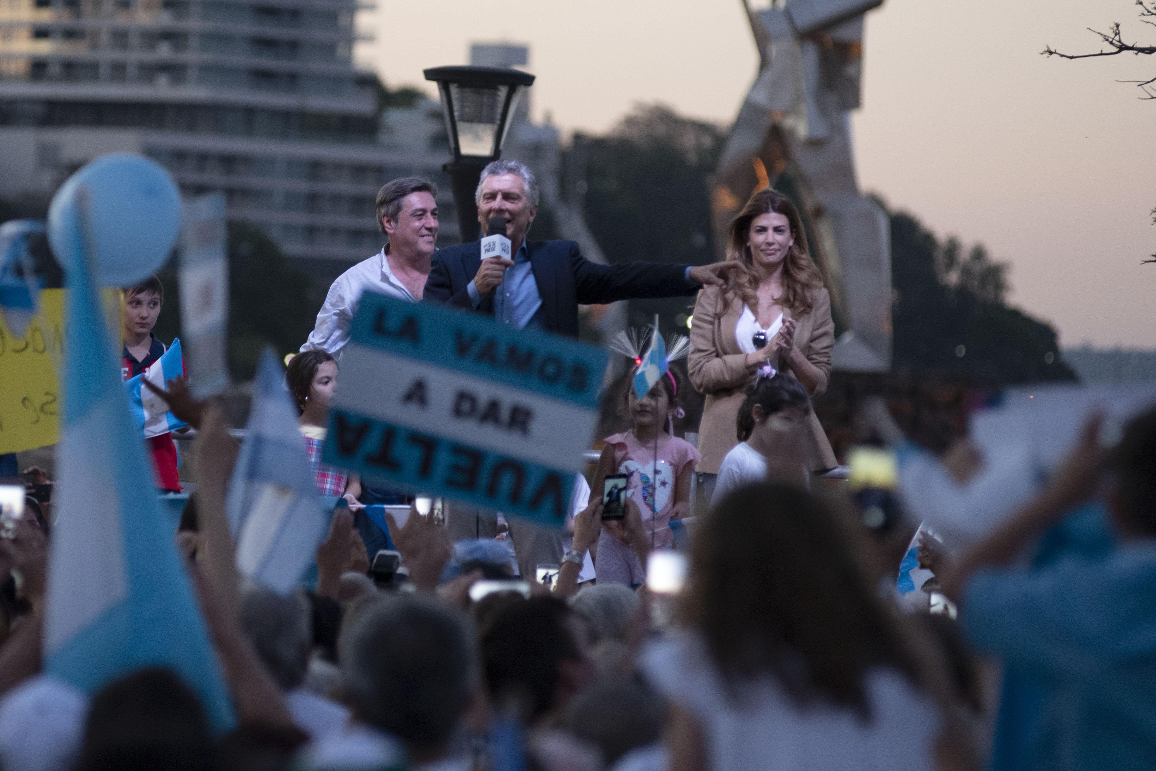 El Presidente Macri encabezó la marcha del Sí Se Puede en Posadas, Misiones.