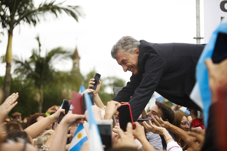El Presidente Macri en la Ciudad de Reconquista, provincia de Santa Fe.