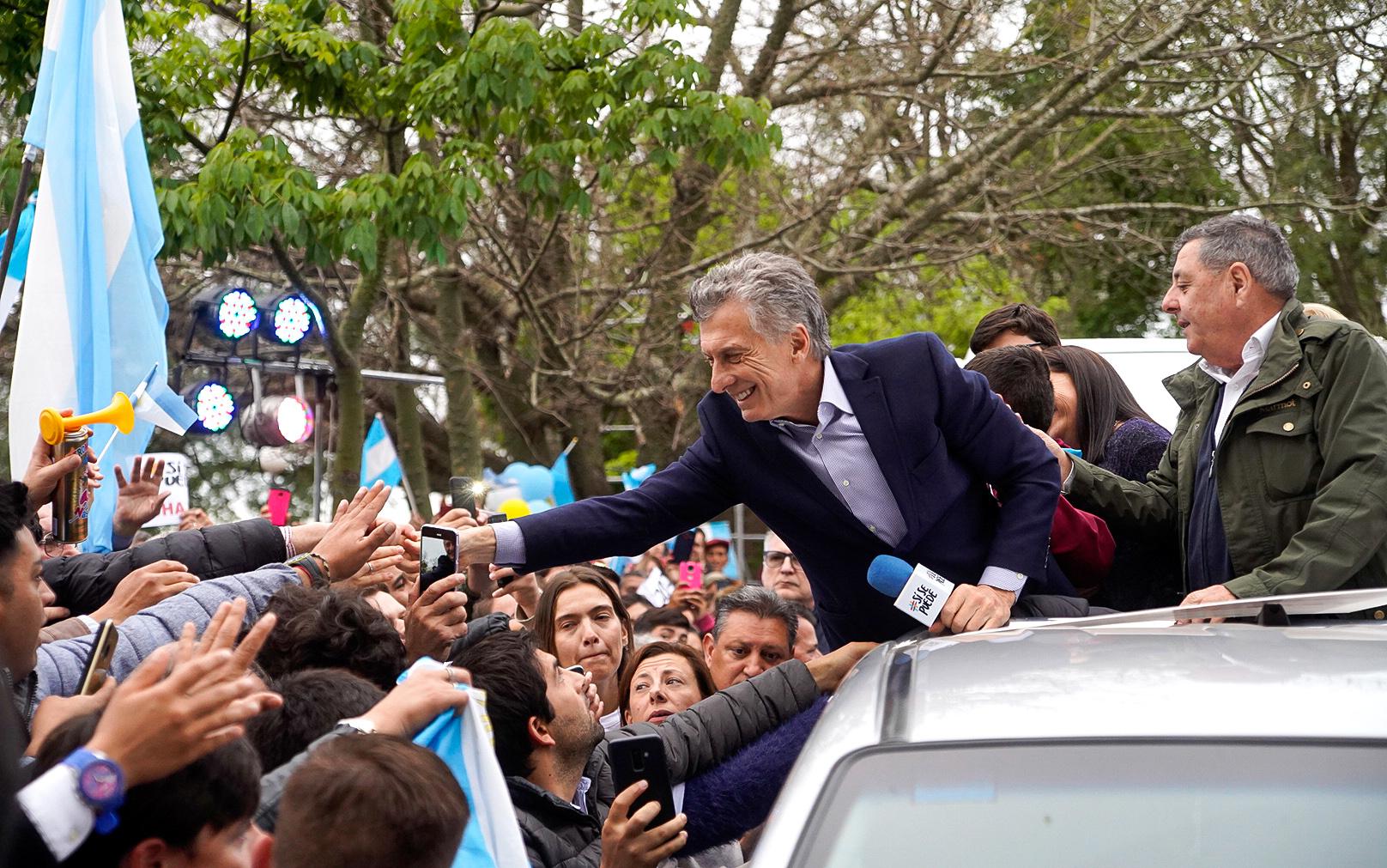 El Presidente Macri encabezó la marcha del Sí Se Puede en La Paz, Entre Ríos.