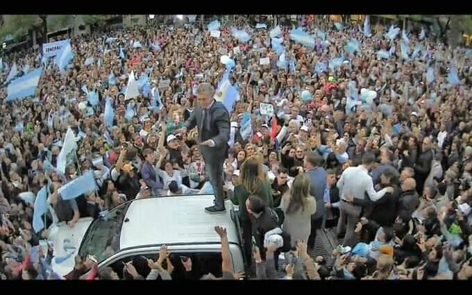 El Presidente Macri encabeza la marcha del Sí Se Puede en toda la Argentina.