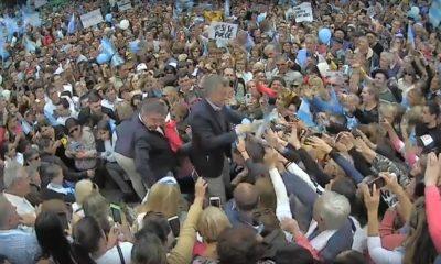 Mauricio Macri en Concepción del Uruguay.