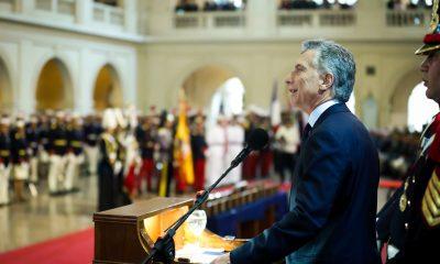 El Presidente Macri encabezó el acto conmemorativo por el 150° aniversario del Colegio Militar.
