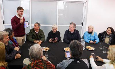 El Presidente Macri visitó la Provincia de Entre Ríos.
