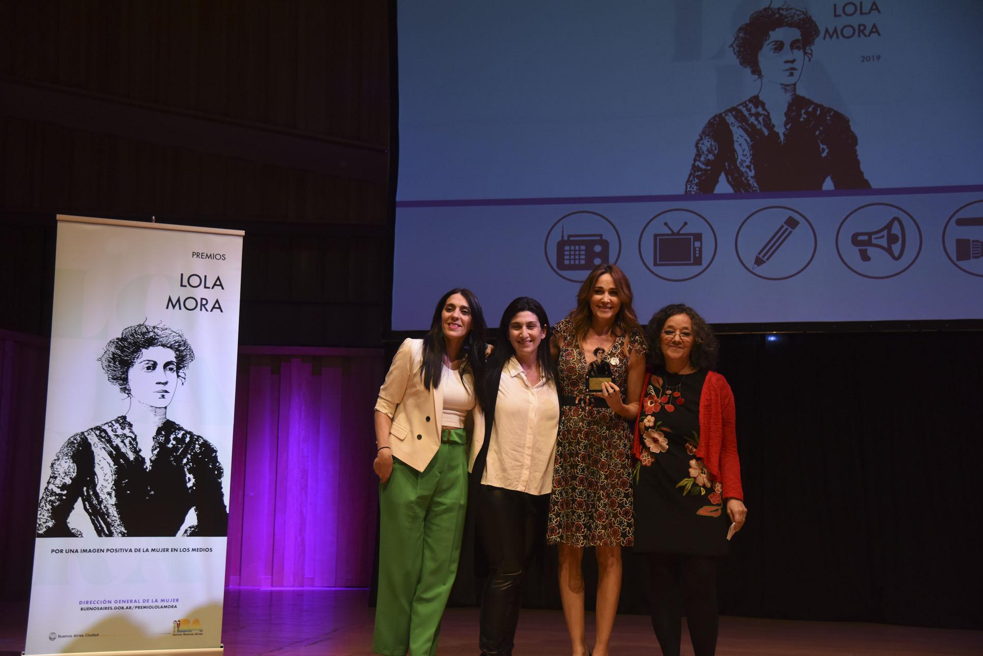 Premios Lola Mora 2019.