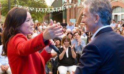 El Presidente Macri junto a la Ministra Stanley.