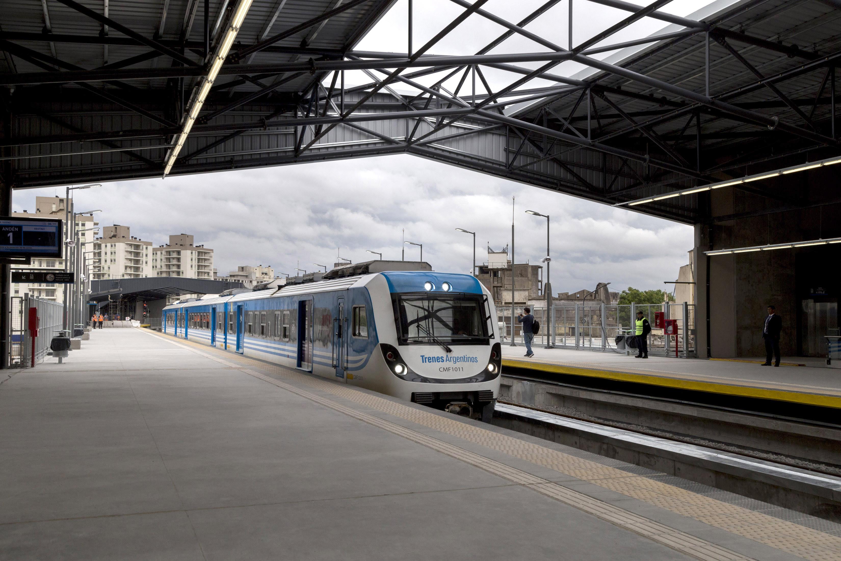 Se inauguró el Viaducto Belgrano Sur en la Ciudad de Buenos Aires.