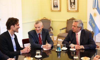 El Presidente Alberto Fernández se reunió con el Chief Business Officer Global de Google.