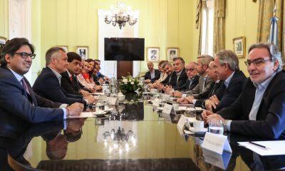 El Presidente Macri encabezó una reunión de Gabinete nacional, en Casa Rosada.