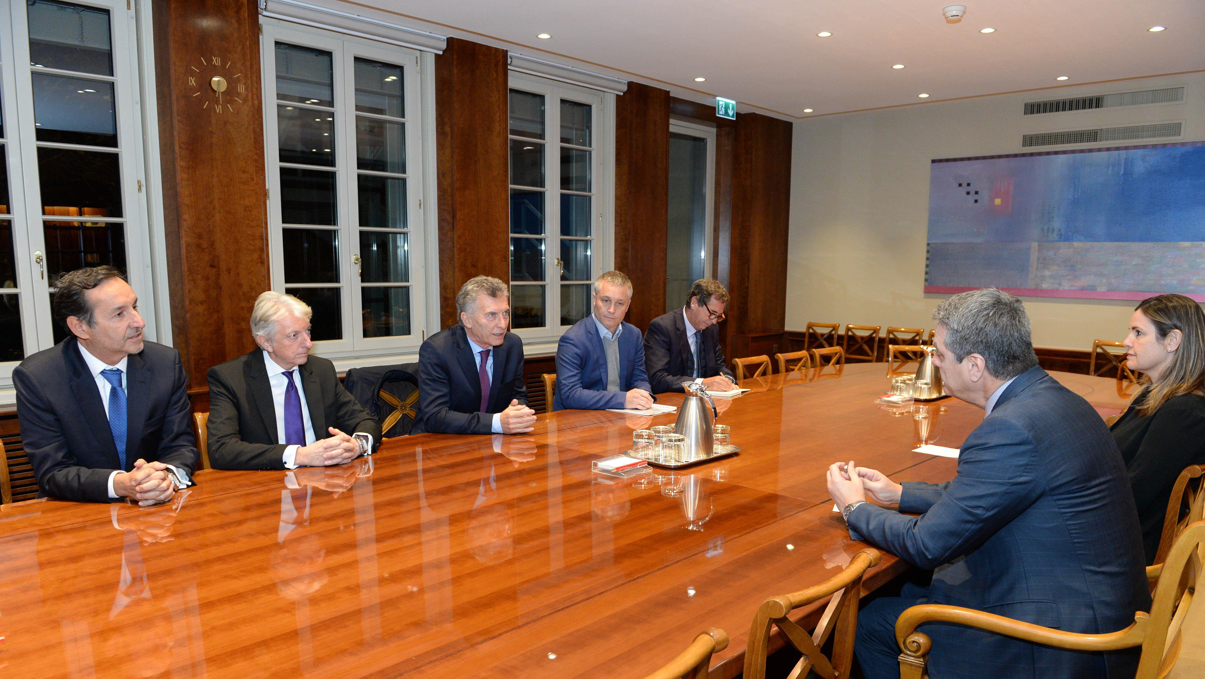El Presidente Macri se reunió con el Director General de la OMC, Roberto Azevedo.