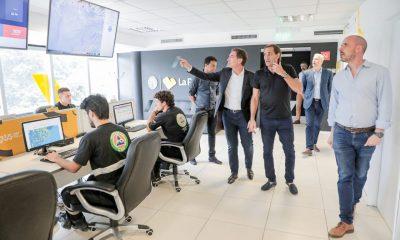 El Vicejefe de Gobierno Porteño, Diego Santilli,  visitó la capital bonaerense.