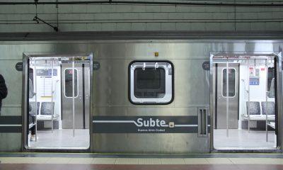 Línea D de Subte.