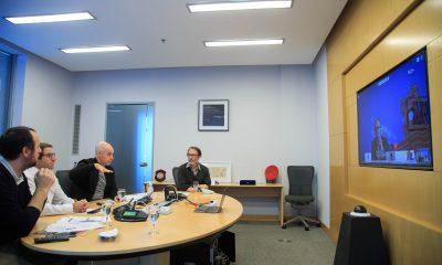 Horacio Rodríguez Larreta dialogó con alcaldes de otros países.