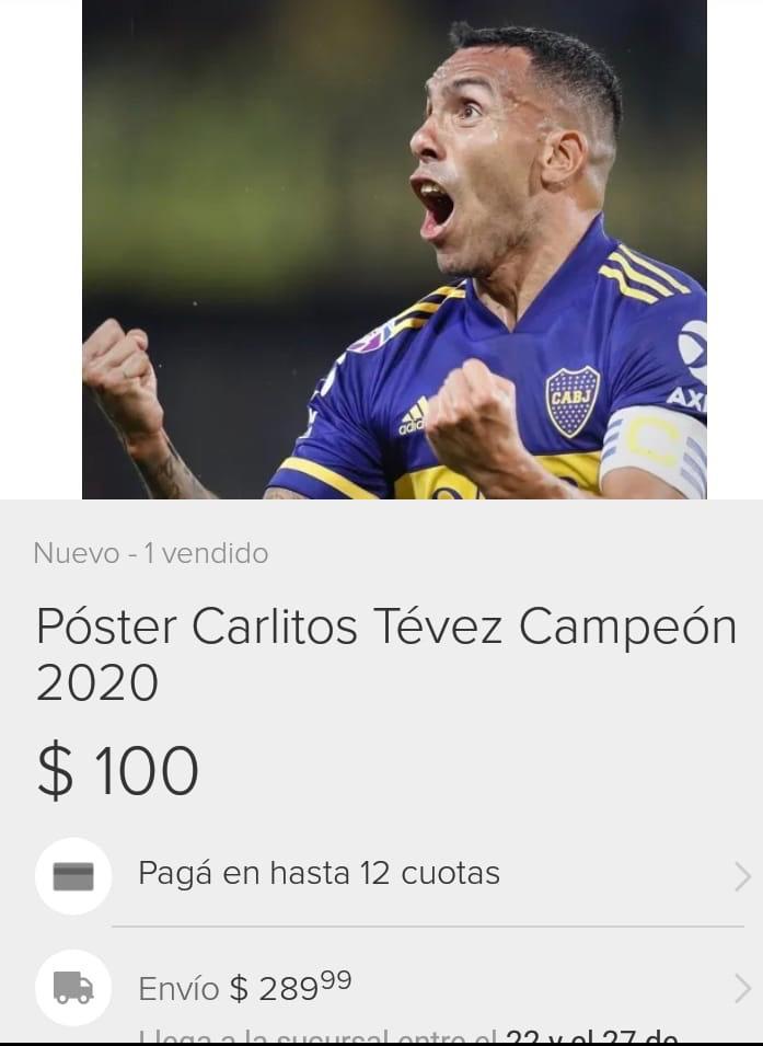Poster Tevez