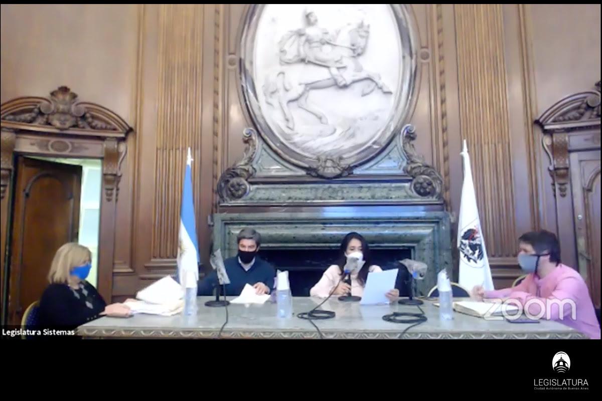 Legislatura de la Ciudad de Buenos Aires.