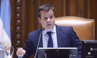 Vicepresidente I de la Legislatura Porteña, Agustín Forchieri